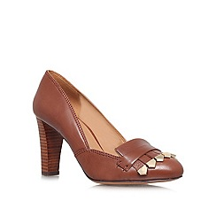 Nine West - Brown 'Captiva' High heeled courts