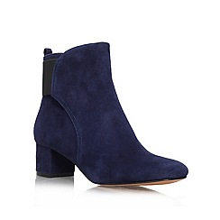 Nine West - Navy 'Faceit' ankle Boot