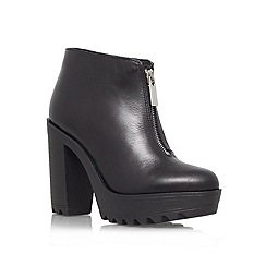 KG Kurt Geiger - Black 'Storm' Leather shoe boot