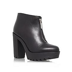 KG Kurt Geiger - Black 'Storm' Leather shoe boot