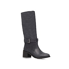 KG Kurt Geiger - Black 'Walker' low heeled boots