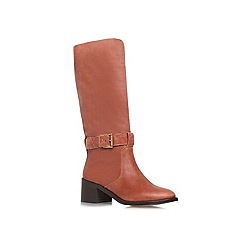 KG Kurt Geiger - Tan 'Walker' low heeled boots