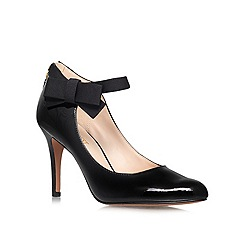 Nine West - Black 'Gushing3' High heeled courts