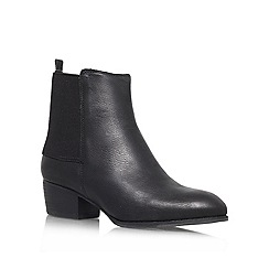 Nine West - Black 'Jerryrig' Low block heeled ankle boot