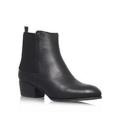 Nine West - Black 'Jerryrig' Low block heeled ankle boot