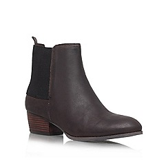 Nine West - Brown 'Jerryrig' Low block heeled ankle boot