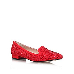 Carvela - Red 'Loren' Flat Court Shoe