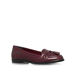 Carvela - Red 'Louise' flat loafers