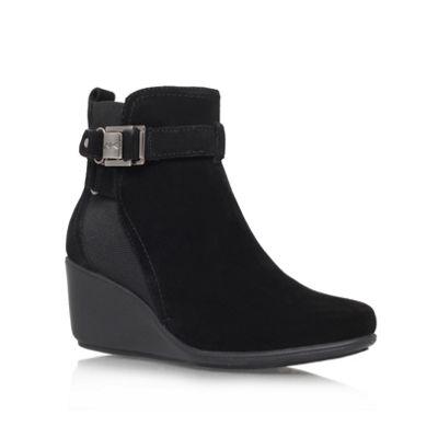 Anne Klein Black ´Fanchon´ Ankle Boot - . -