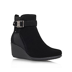 Anne Klein - Black 'Fanchon' Ankle Boot