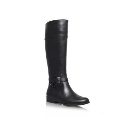 Anne Klein Black ´Coldfeet´ Leather boot - . -
