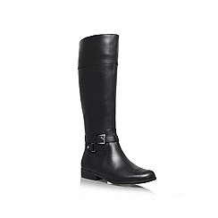 Anne Klein - Black 'Coldfeet' Leather boot