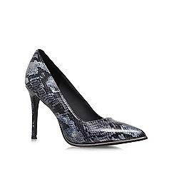 KG Kurt Geiger - Grey 'Beauty' High heeled courts