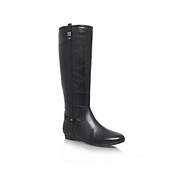 Anne Klein - Black 'Creda' Leather boot