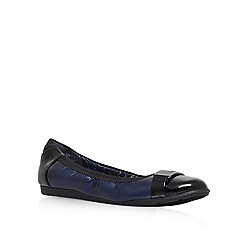 Anne Klein - Navy 'Staycalm' Flat Court Shoe