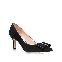 Nine West - Black 'Tiffany' mid heeled courts