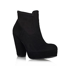 KG Kurt Geiger - Black 'Spice' Leather ankle boot