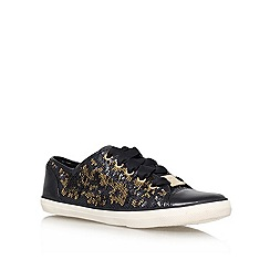 Lipsy - Black/Comb 'Lexi' Lace up Trainer