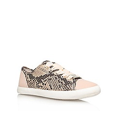 Lipsy - Gold Comb 'Lola' Lace up