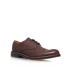 KG Kurt Geiger - Brown 'Suffolk' Leather lace up