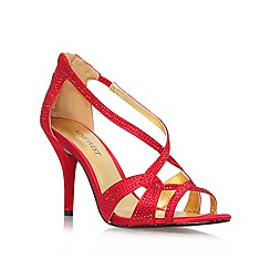 Nine West - Red 'Asvelia2' High Heeled Court Shoe