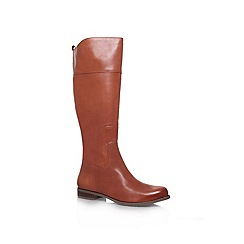Nine West - Tan 'Cromie' flat boots