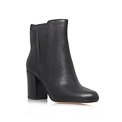 Nine West - Black 'Saga' High block heeled ankle boots
