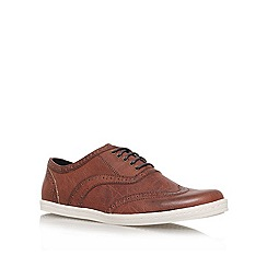 KG Kurt Geiger - Brown 'Jackett' lace up sneakers