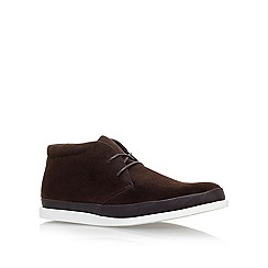 KG Kurt Geiger - Brown 'Megson' Lace Ups