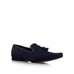 KG Kurt Geiger - Navy 'Dowie' Slip-on Shoe
