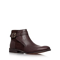 KG Kurt Geiger - Brown 'Kinear' Ankle boot