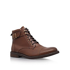 KG Kurt Geiger - Brown 'Taylor' lace up boots