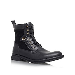 KG Kurt Geiger - Black 'Cotterill' Lace up boot