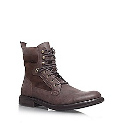 KG Kurt Geiger - Brown 'Cotterill' Lace up boot