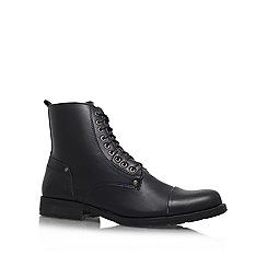 KG Kurt Geiger - Black 'Wilson' Lace-up ankle boot