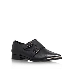 KG Kurt Geiger - Black 'Lunar' Leather slip on
