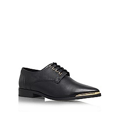 KG Kurt Geiger - Black 'Lazarus' Leather lace up