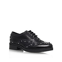 KG Kurt Geiger - Black 'Lover' Leather lace up