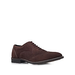 KG Kurt Geiger - Brown 'Paisley' formal lace ups
