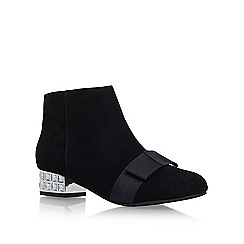 KG Kurt Geiger - Black 'Solo' Heeled boot