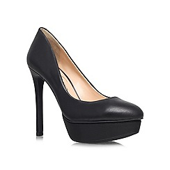 Jessica Simpson - Black 'Winslo' high heeled courts