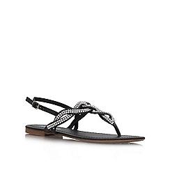 Miss KG - Black 'Danni' flat sandal