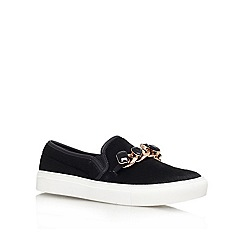 KG Kurt Geiger - Black 'lola' Leather slip on