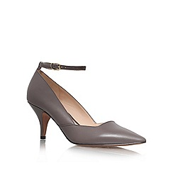 Nine West - Grey 'Eggy' Mid Heeled Court Shoe