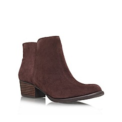 Jessica Simpson - Brown 'Delaine' Leather boot