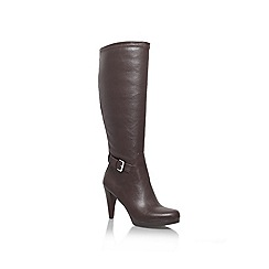Nine West - Brown 'Native3' High Heeled Boot