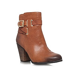 Vince Camuto - Brown 'Harriet' High block heeled ankle boots