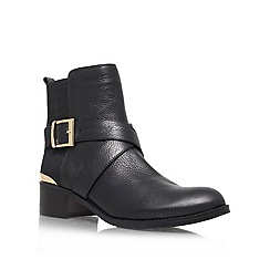 Vince Camuto - Black 'Fritzi' Leather ankle boot