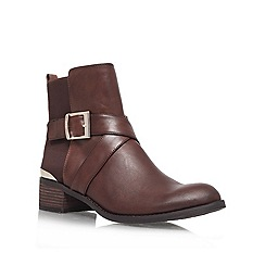 Vince Camuto - Brown 'Fritzi' Leather ankle boot