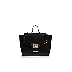 Carvela - Black 'Angelika Studded Lock Bag' Crossbody handbag